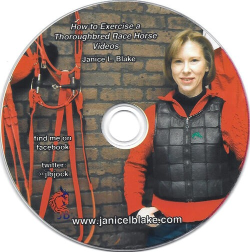 How to Exercise a Thoroughbred Race Horse DVD